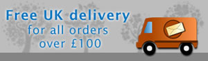 Free UK delivery for all orders over £100